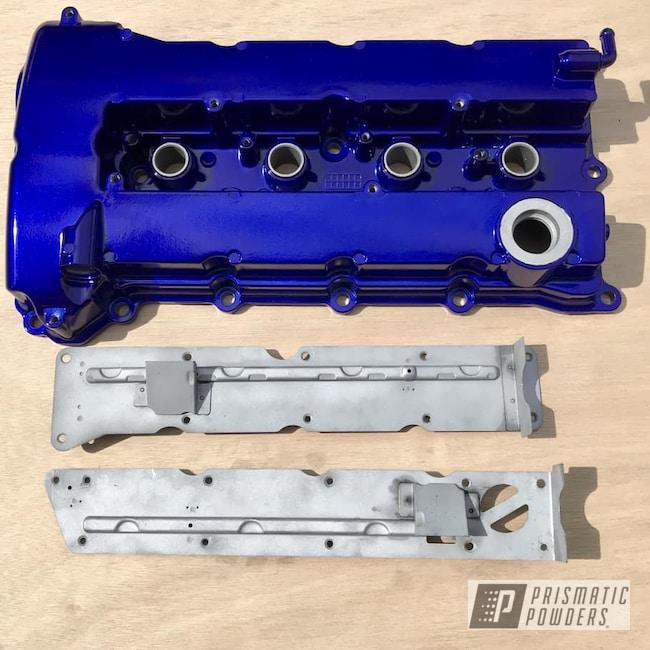 Powder Coating: Evo x,SILVER METALLIC II PMB-0513,Bentley Blue PPB-4711,Valve Cover