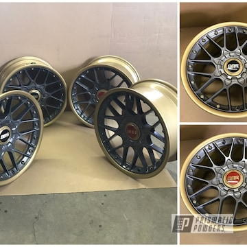 Powder Coated Two Piece Jetta Bbs Wheels