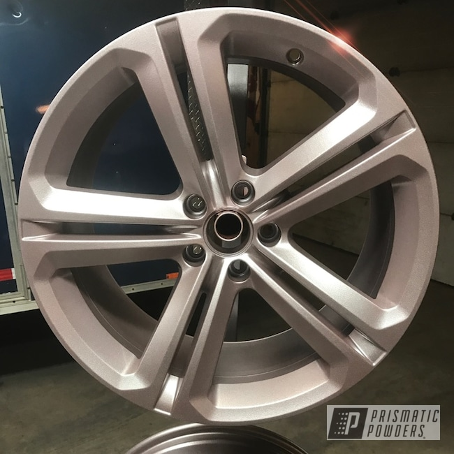 Silver Powder Coated Bbs Wheels