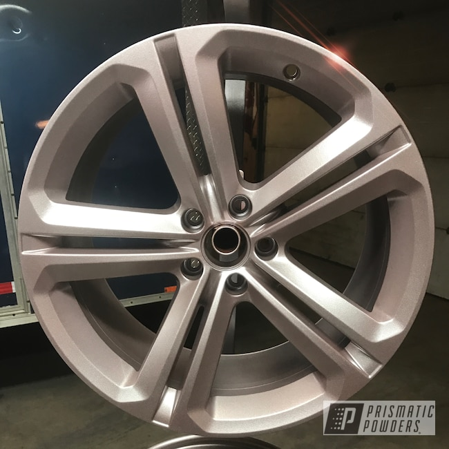 Powder Coating: Wheels,Automotive,Class B Silver PMB-2951,BBS,18inch