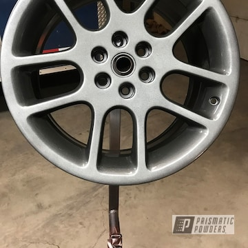 Silver Powder Coated Dodge Viper Wheels