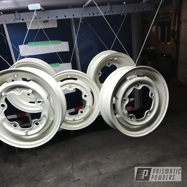 Powder Coating: Wheels,Automotive,Volkswagen,Cloud White PSS-0408,Beetle
