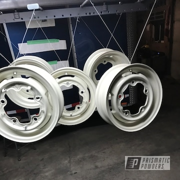 Powder Coated Volkswagen Beetle Drop Center Wheels