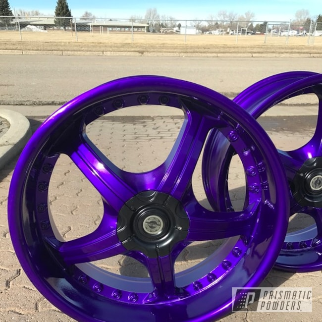 Powder Coating: Illusion Purple PSB-4629,Wheels,Automotive,Clear Vision PPS-2974,durango,18inch