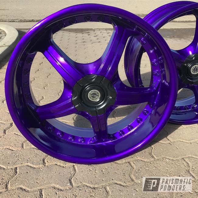 Powder Coating: Illusion Purple PSB-4629,Wheels,Automotive,Clear Vision PPS-2974,durango,18inch