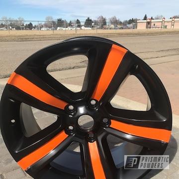 Two Toned Powder Coated Dodge Ram Wheels