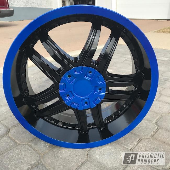 "Powder Coating: Wheels,Matte Black PSS-4455,Automotive,Clear Vision PPS-2974,Dodge,Illusion Blueberry PMB-6908,Ram,16"""