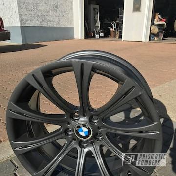 Black Powder Coated Bmw Wheels