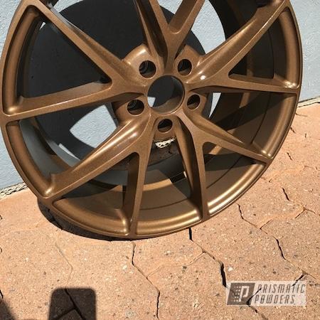"Powder Coating: Wheels,WRX,18"",Automotive,Subaru,Highland Bronze PMB-5860"
