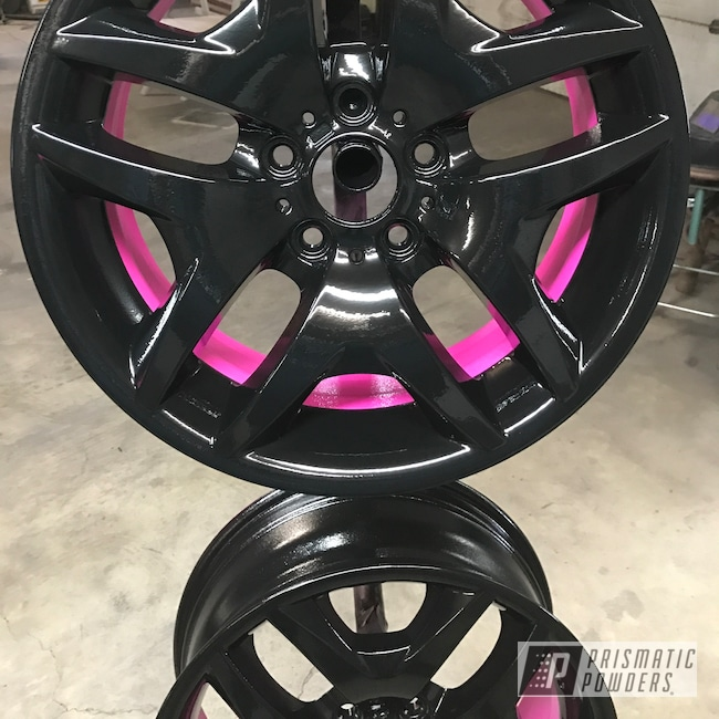 Powder Coating: Wheels,Matte Black PSS-4455,Automotive,Sassy PSS-3063,18inch