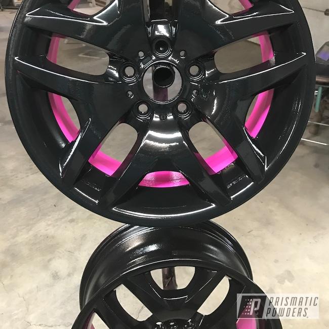 Powder Coating: Wheels,Matte Black PSS-4455,Automotive,Sassy PSS-3063,18inch