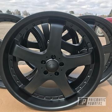 Black Powder Coated Wheels